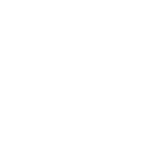 A circle with lines through it in a box pattern.